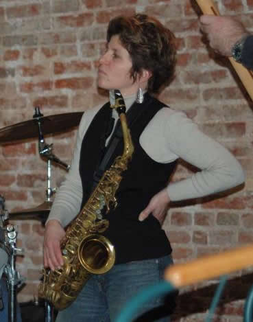 Superwoman of the sax