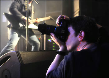 live music concert photographer